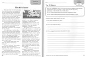 Excerpt from Reading Comprehension Fundamentals, Grade 6. (Evan-Moor, 2018) This unit teaches the concept of summarizing. I wrote all the fiction units in this workbook.