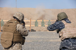 Marine and sailor train with rifles in Djibouti 5616x3744px.JPG