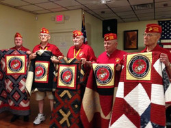 The Marine Corps League with their Quilts of Valor.jpg