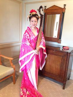 東京名門ホテル「椿山荘」での薬膳コンサート
