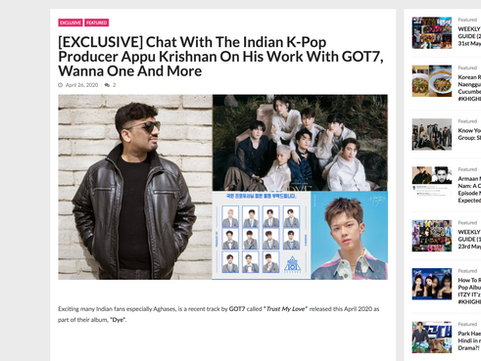 KPOP High India Article