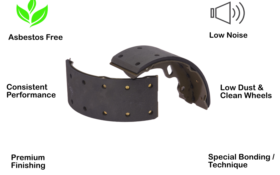brake shoes features