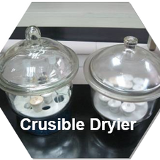 Crucible dryer