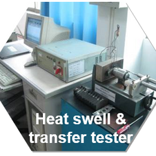 Heat swell & transfer test