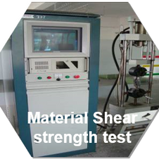 Material shear strength