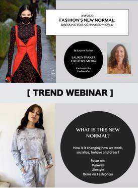 Trend Webinar for FashionGo