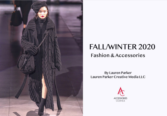 FW20 Accessories Presentation for Informa & Accessories Council