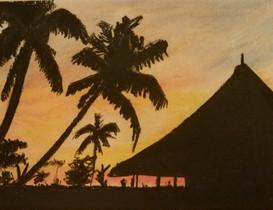 """Vietnam at Sunset"""