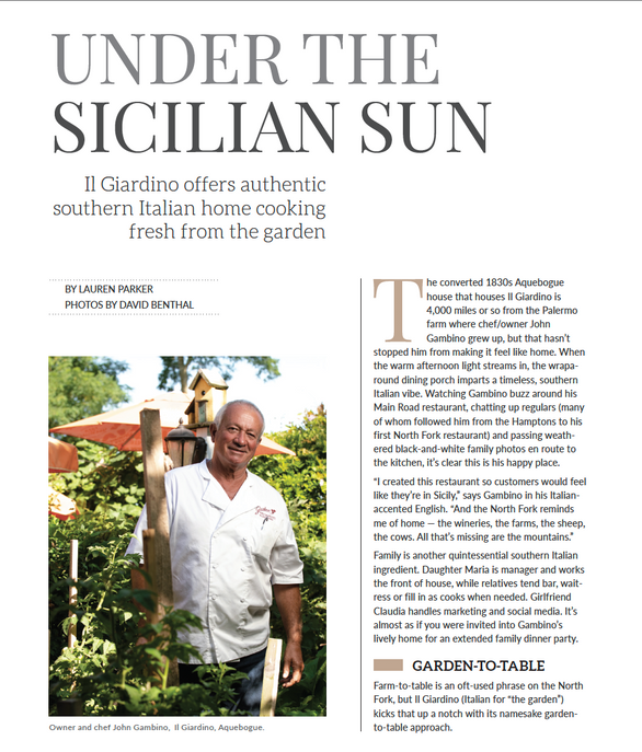 """Under the Sicilian Sun"""