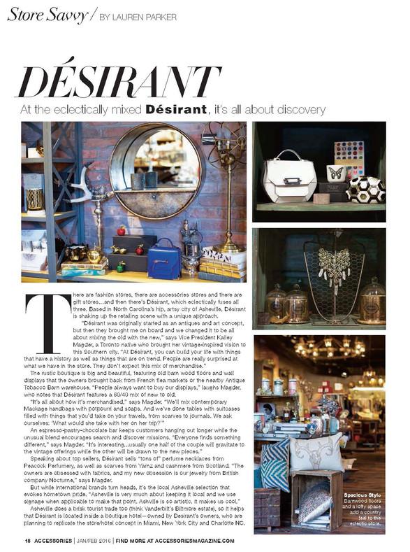 Store Savvy / Accessories Magazine