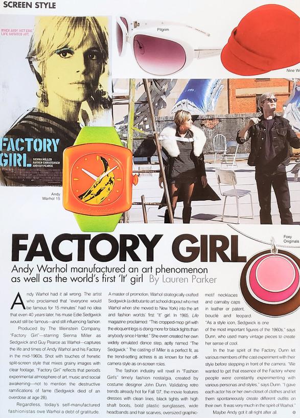 Screen Style / Accessories Magazine
