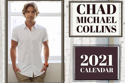 Chad Michael Collins 2021 Calendar - United States of America