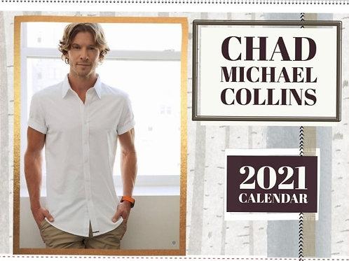 Chad Michael Collins 2021 Calendar - Australia