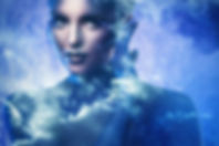 Goddess of the universe. Beautiful model