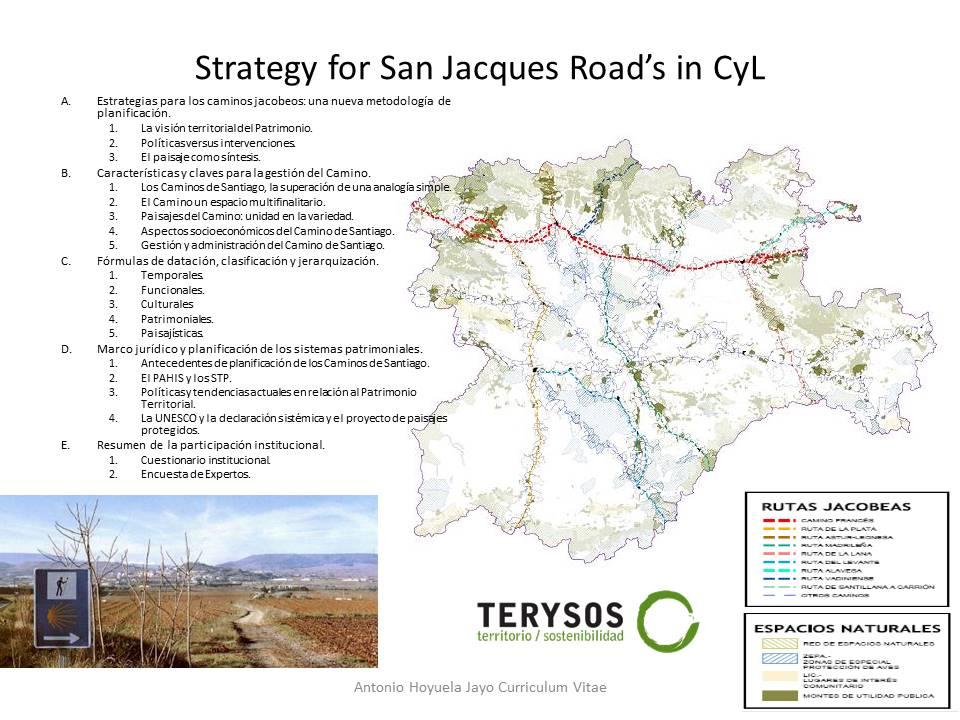 Estrategia de los Caminos a Santiago