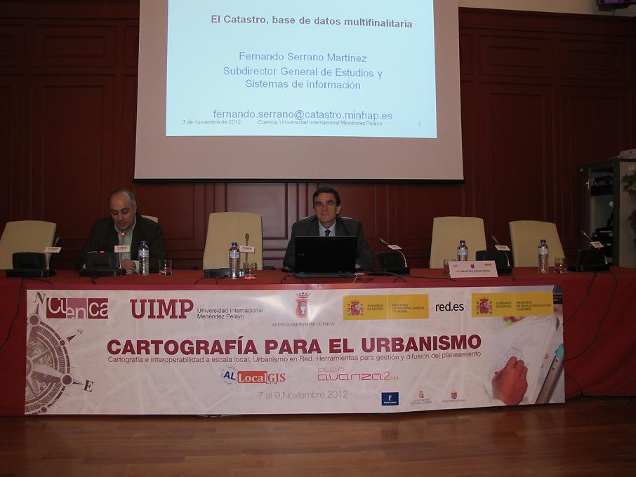 conferencia Fernando Serrano 7 nov 2012