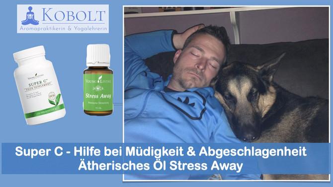 Hilfe bei Müdigkeit & Abgeschlagenheit mit ätherischen Ölen
