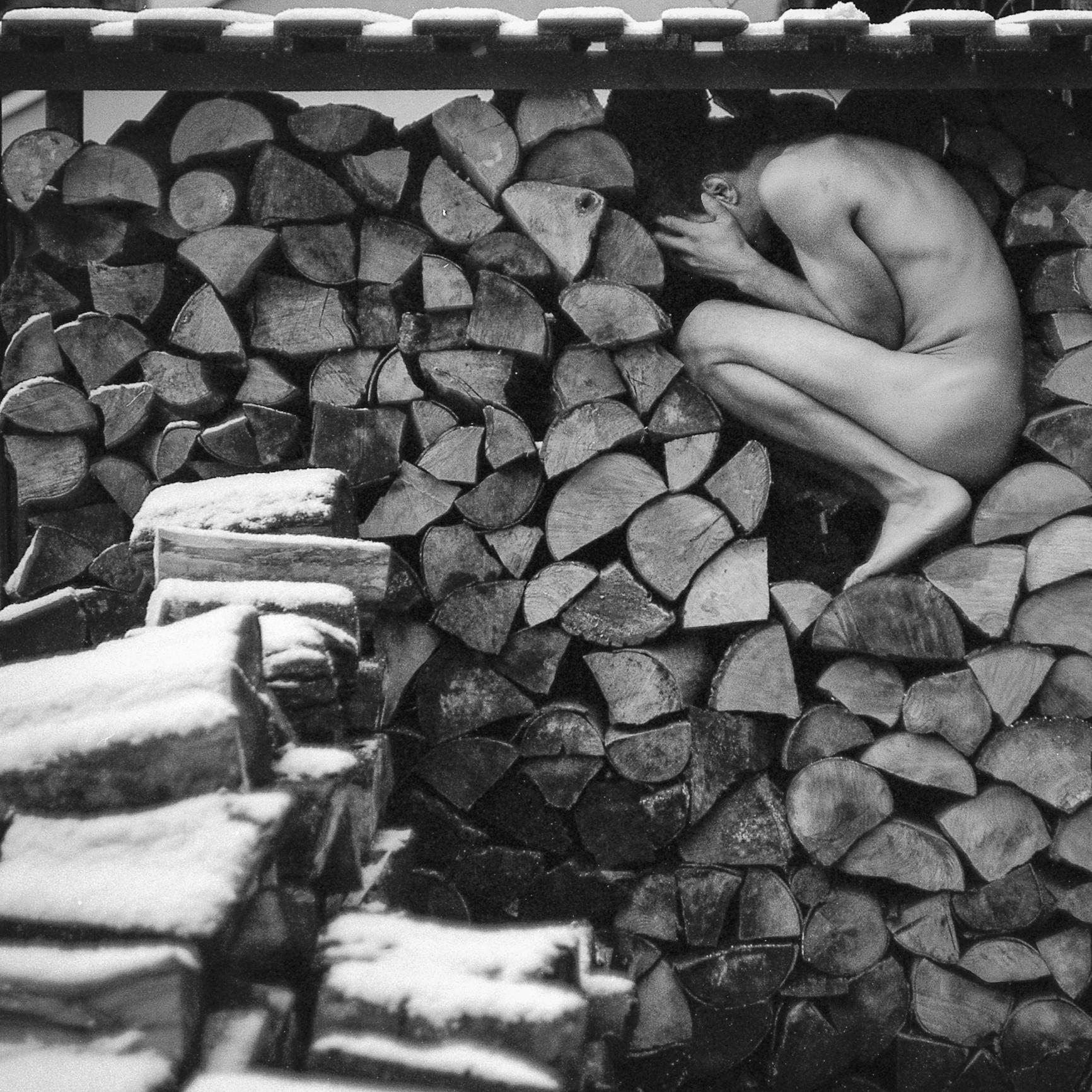 W drewnie - poukładany