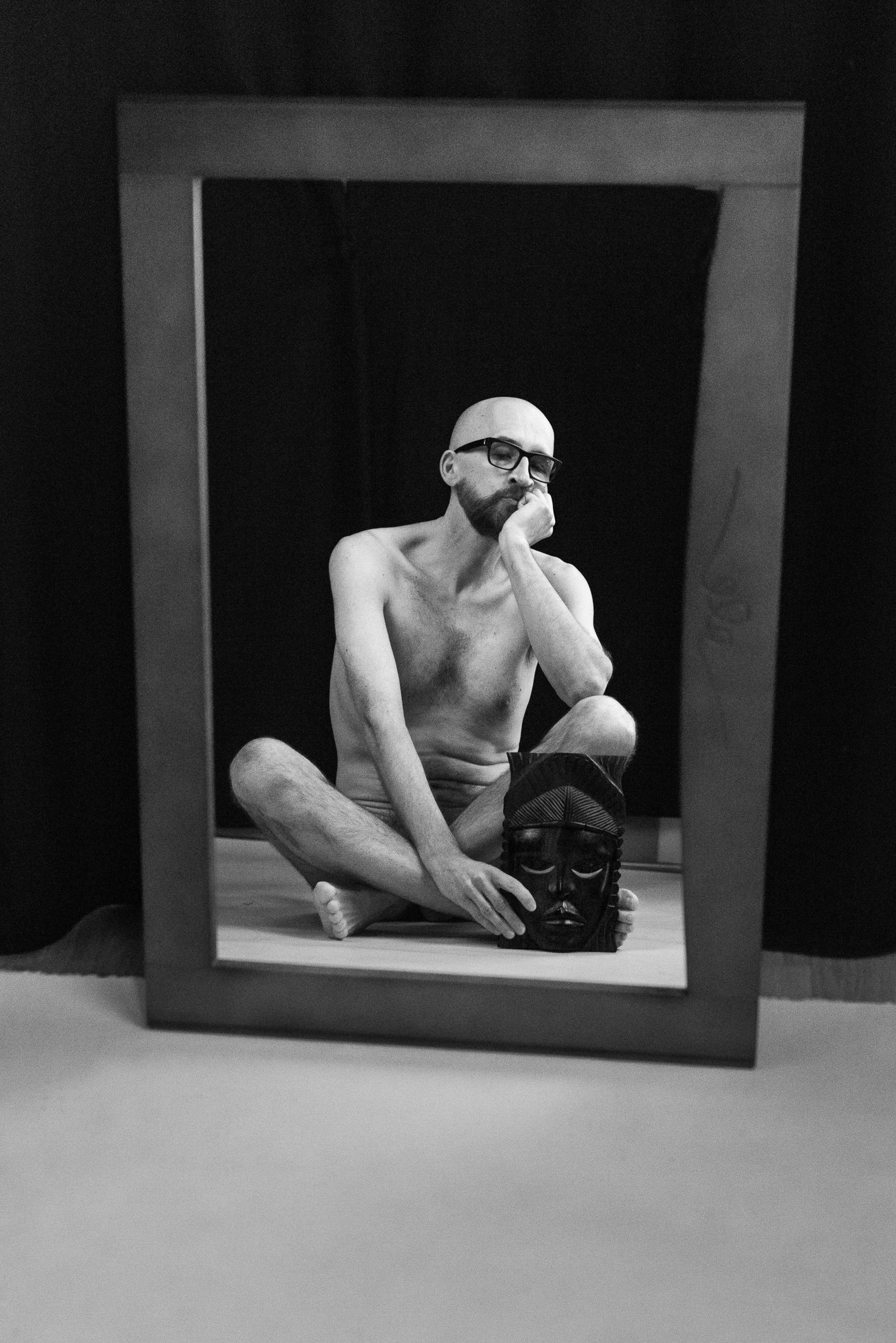 Portret z maską - by Ewa Żala