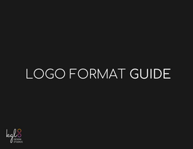 Logo Format Guide Title Page