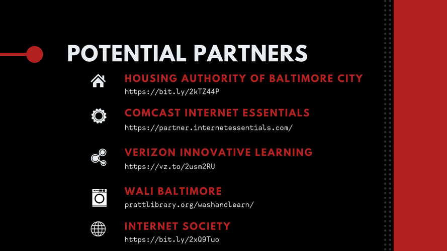 """Potential Partners"" Slide"