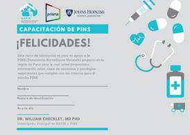 Certificate of Completion en espanol