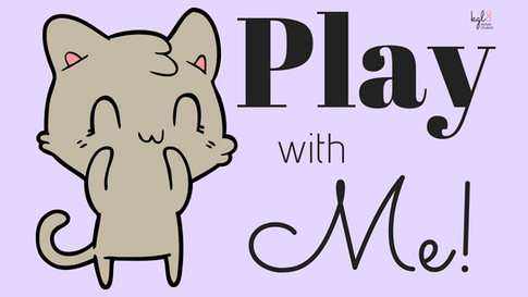 """""""Play with Me!"""" Twitch Profile Banner"""