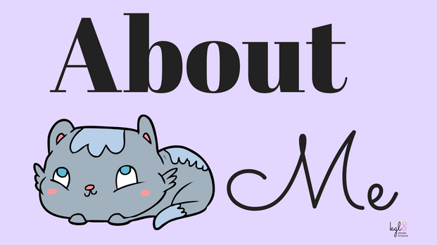 """""""About Me"""" Twitch Profile Banner"""