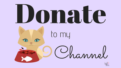 """Donate to my Channel"" Twitch Profile Banner"