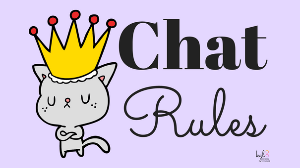 """Chat Rules"" Twitch Profile Banner"