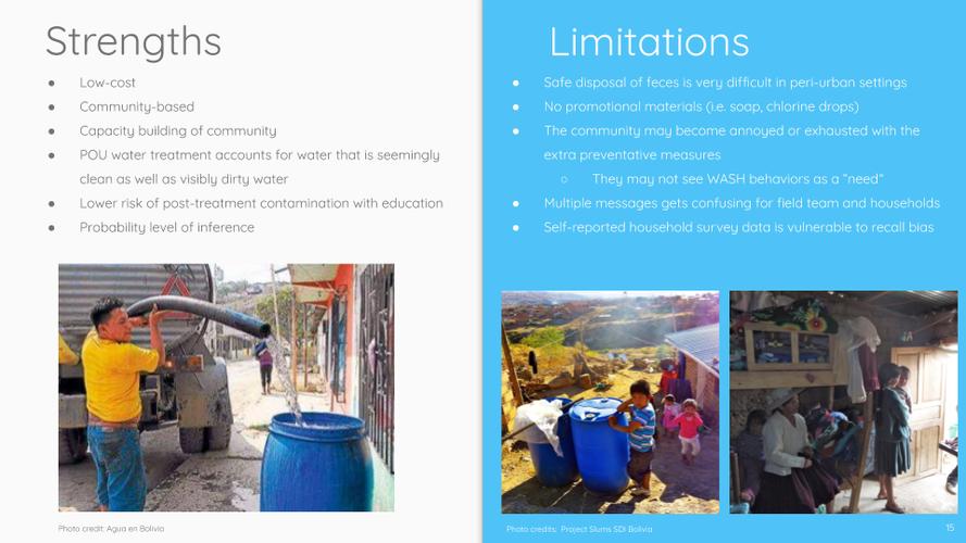 """Strengths & Limitations"" Slide"