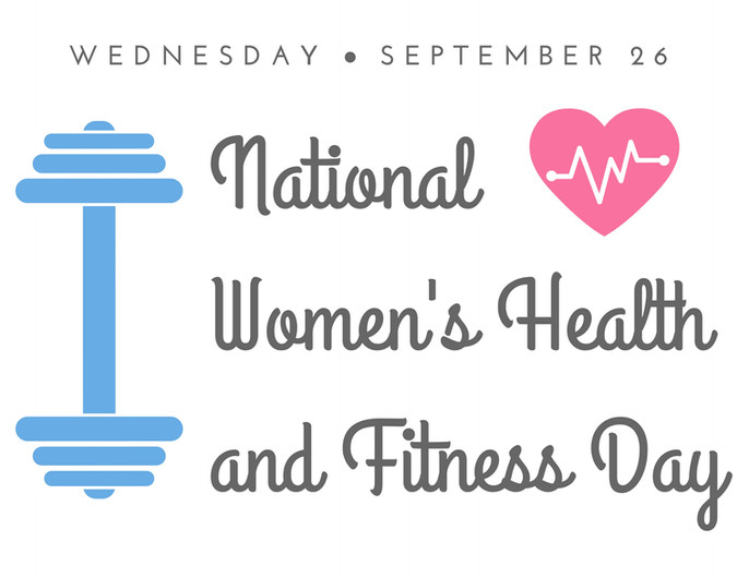 """""""National Women's Health Day"""" E-newsletter Graphic"""