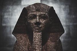 Imagen de un faraón