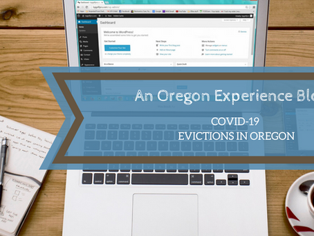 COVID-19 Evictions in Oregon