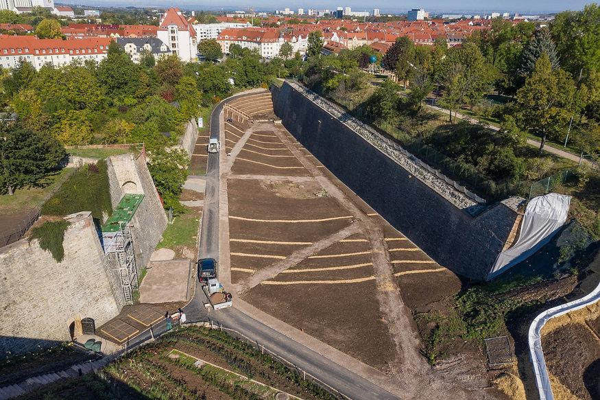Festungsgraben Petersberg