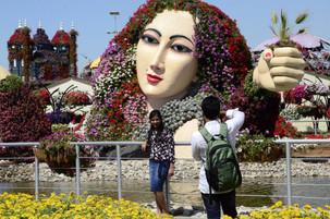 Kunst und Blumen