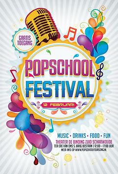 Popschool muziekles Alkmaar