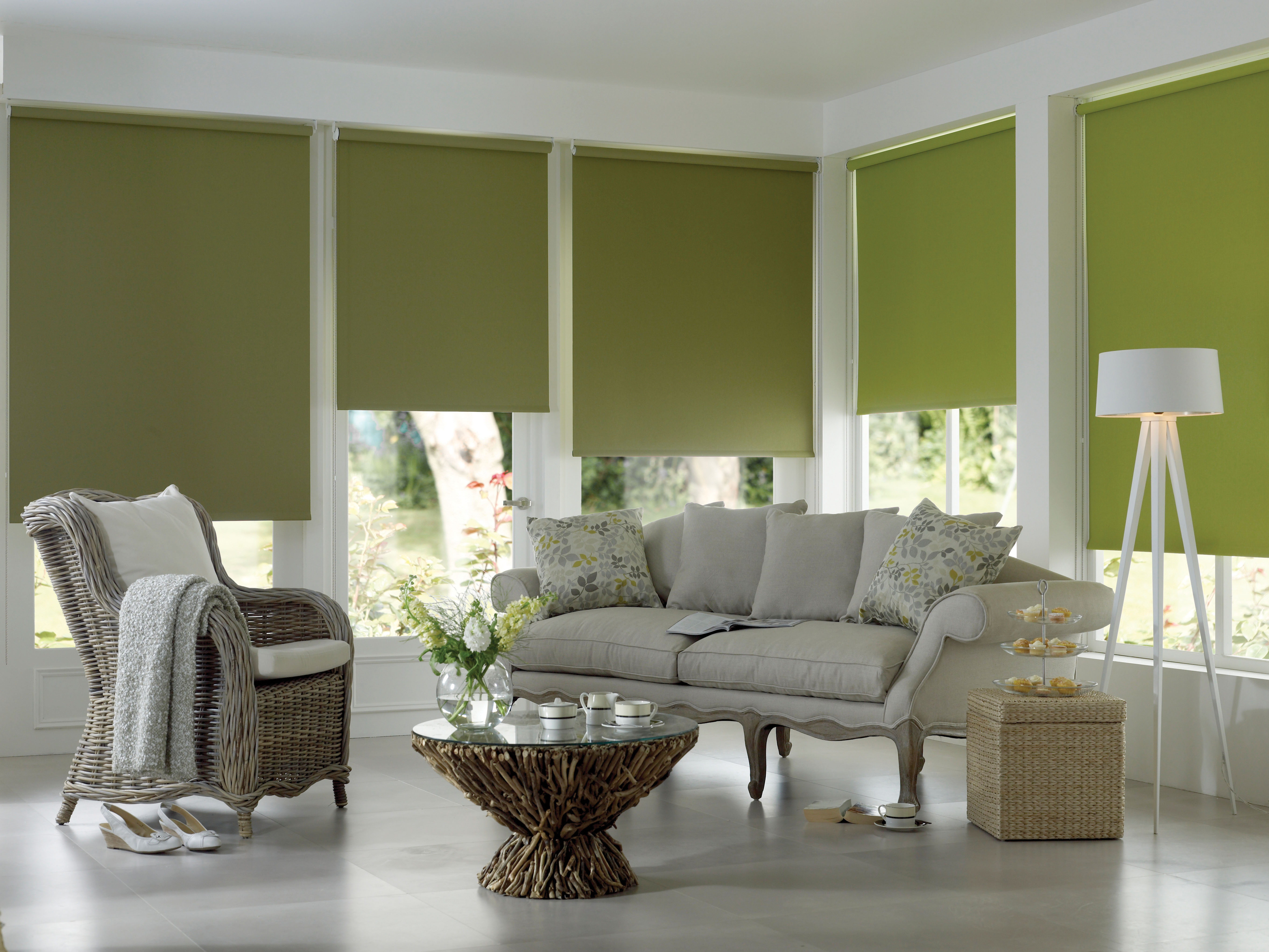 Glazing Films Roller Blinds