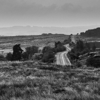 Winding Road Peak District