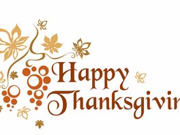 Tell Us What You're Thankful For!