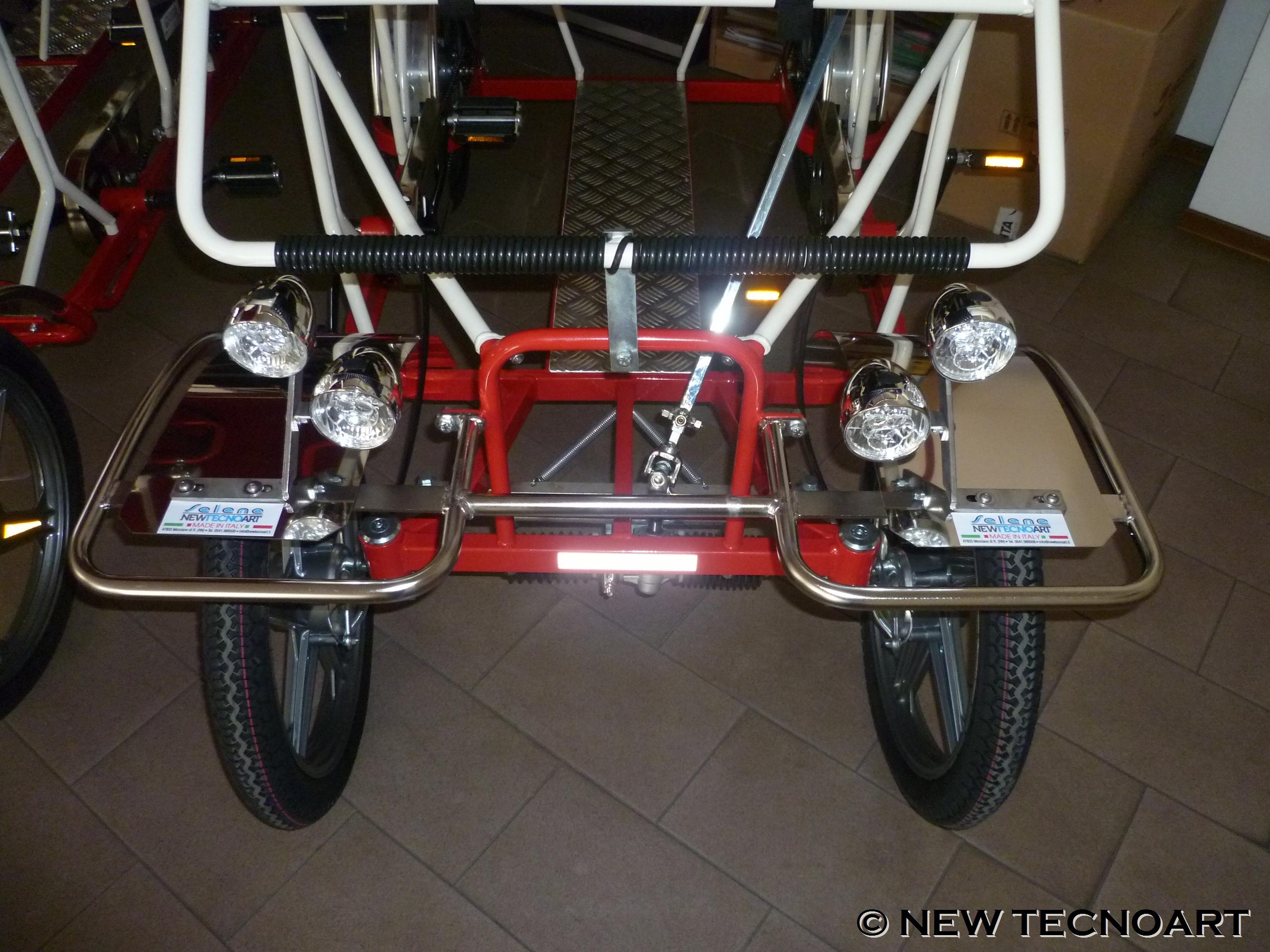Bumper and headlights