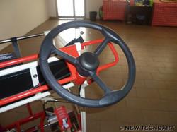 Steering wheel passenger