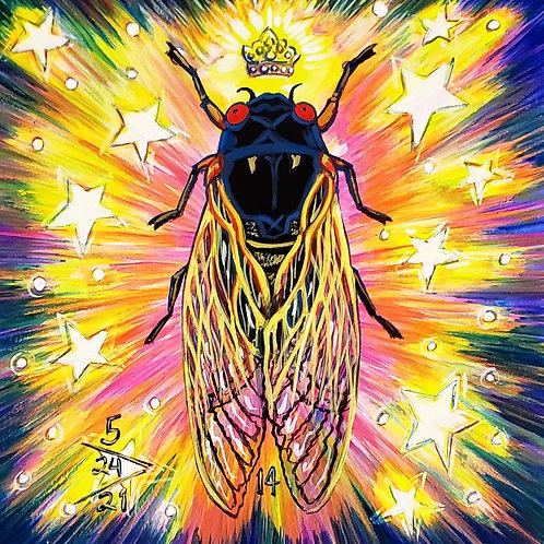 Cicada no. 14, Print