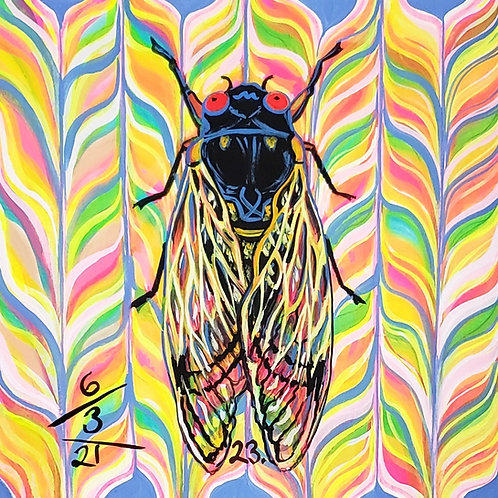 Cicada no. 23, Print