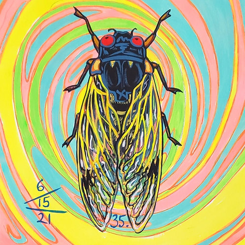 Cicada no. 35, Print