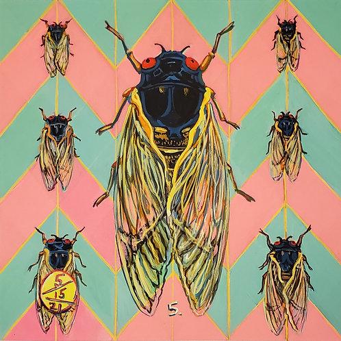 Cicada no. 5, Print