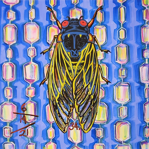 Cicada no. 34, Print