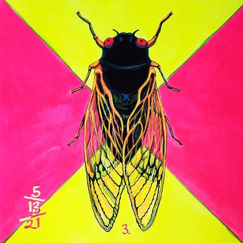 Cicada no. 3, Painting