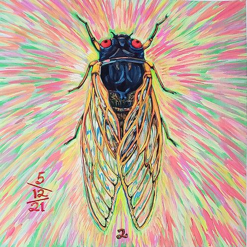 Cicada no. 2, Painting