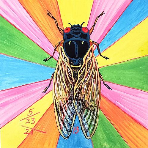 Cicada no. 13, Print